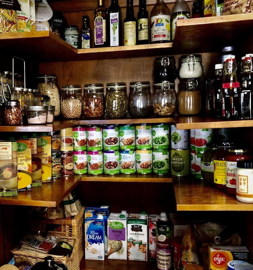 Stocking your vegan kitchen with my basic vegan grocery list