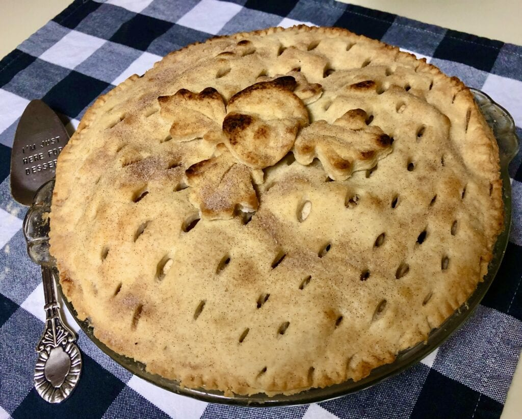 vegan apple pie recipe, vegan pie crust