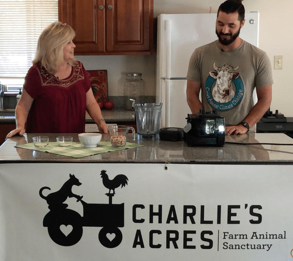 The Carrot Underground at Charlie's Acres Farm Sanctuary