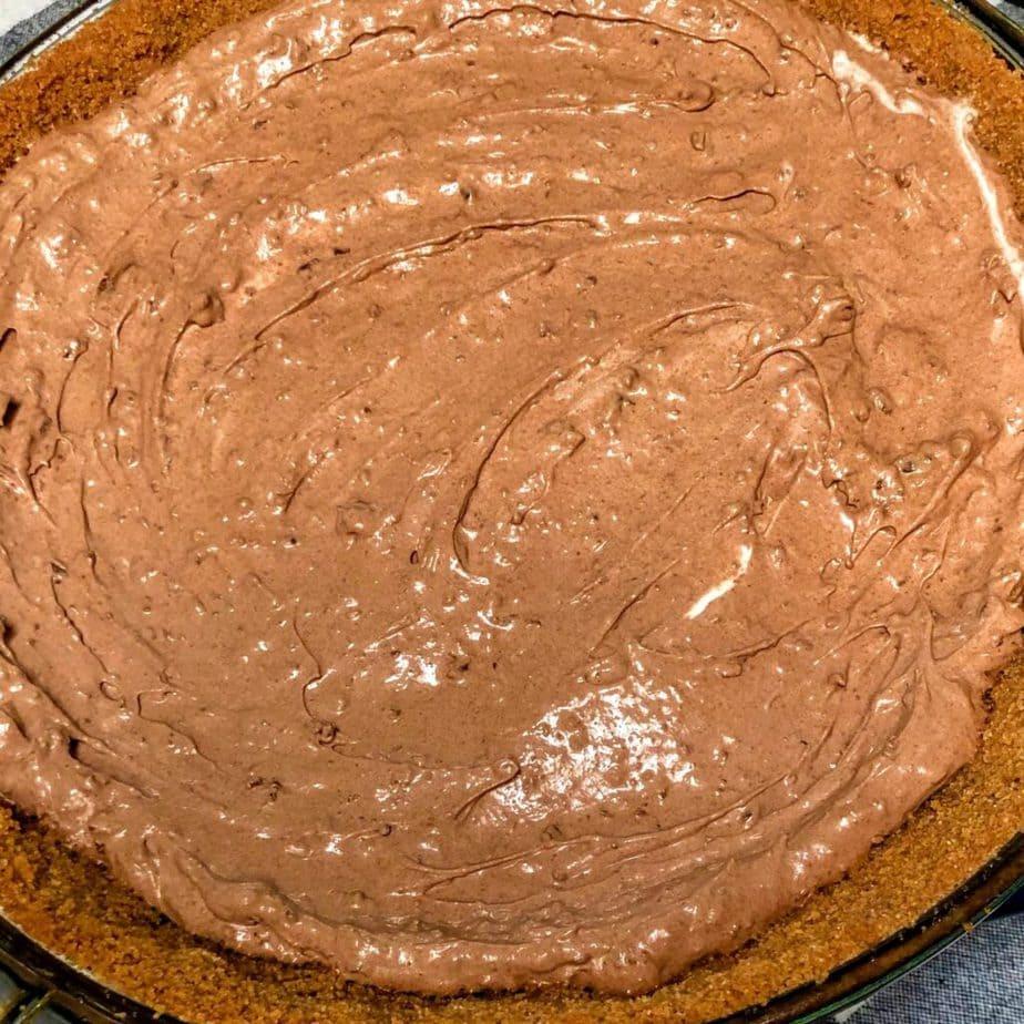 vegan chocolate dream pie filling
