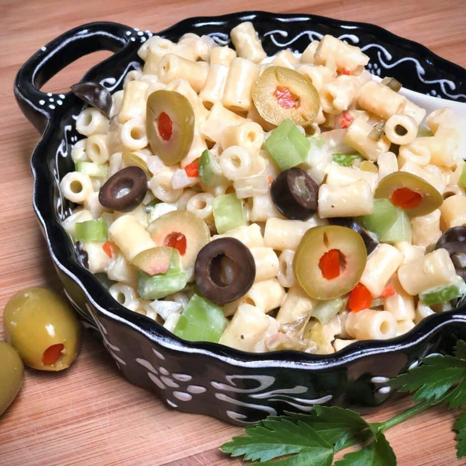 Mom's Vegan Macaroni Salad
