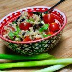 Zesty Vegan Quinoa Salad