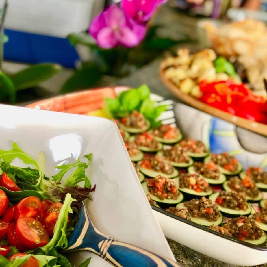 Vegan Mediterranean Appetizers