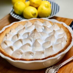 world's best vegan lemon meringue pie
