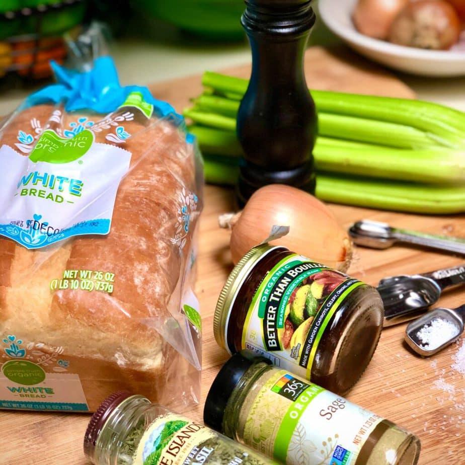 vegan stuffing ingredients