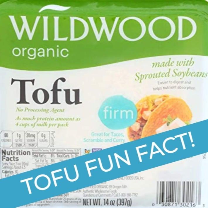 tofu fun fact