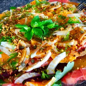 very vegan citrus carpaccio
