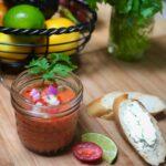 Gazpacho vegan cold soup