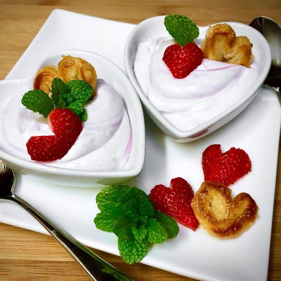 vegan very berry mousse
