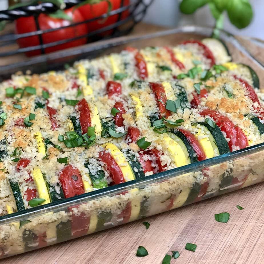 garden zucchini casserole