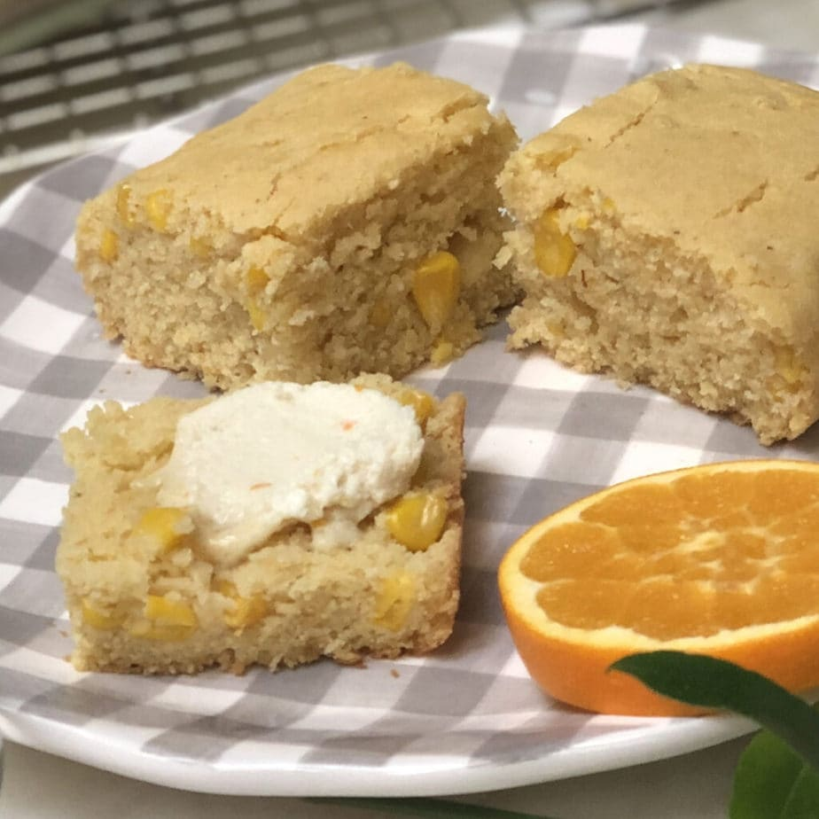 Easy Vegan Corn Bread