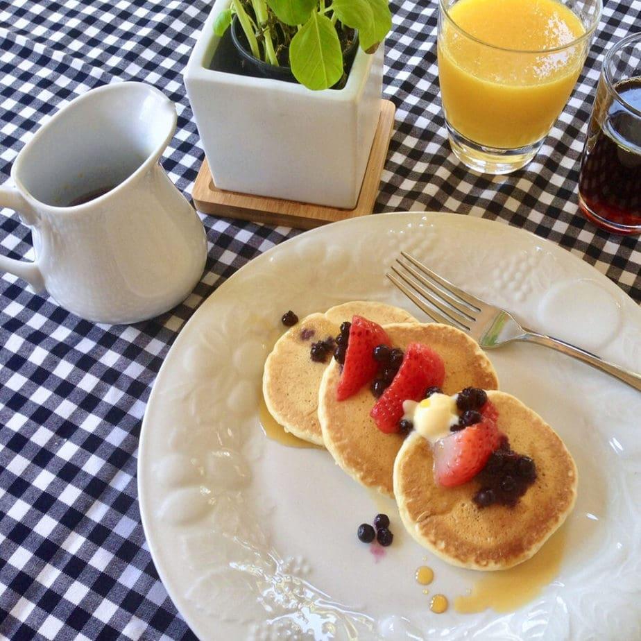 easy vegan perfect pancakes