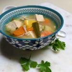 vegan tom yum soup