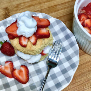 best vegan strawberry shortcake