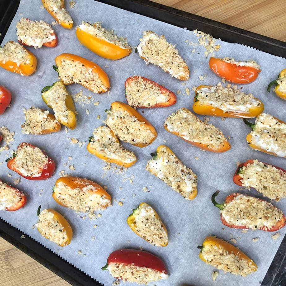 cheese filled mini sweet peppers