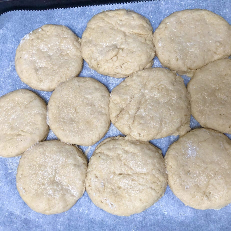 shortcakes ready for baking