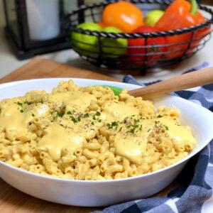 easy vegan mac & cheese
