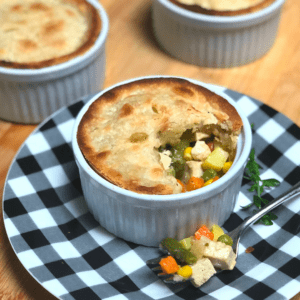 easy homemade vegan pot pie