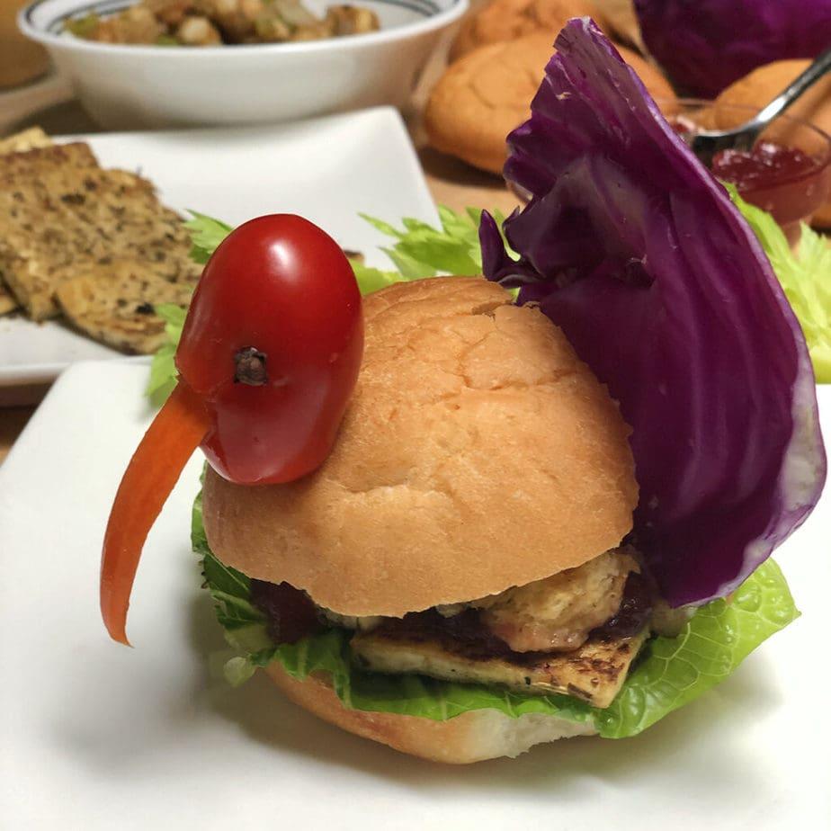 tofu turkey sandwich