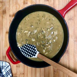 Vegan Homemade Mushroom Gravy