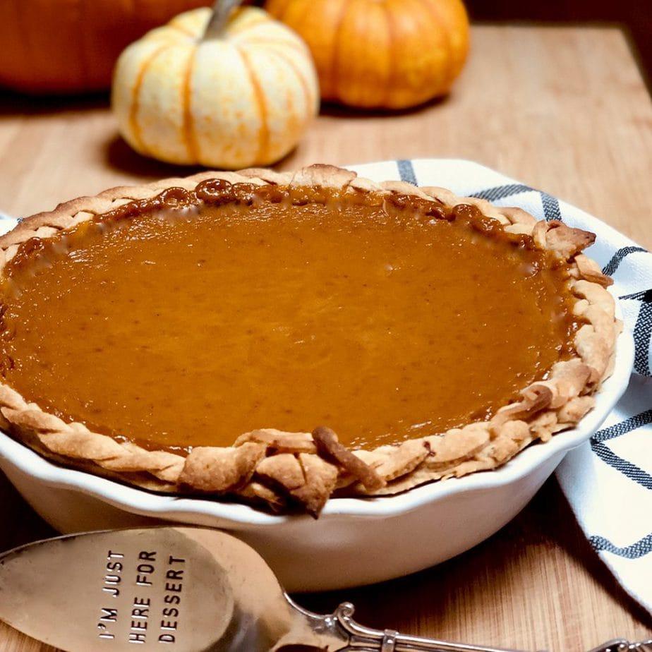 best homemade vegan pumpkin pie