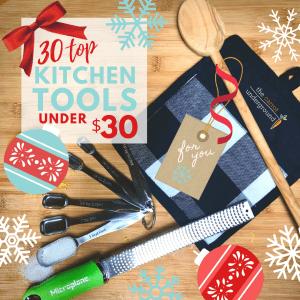 30 top kitchen tools under $30
