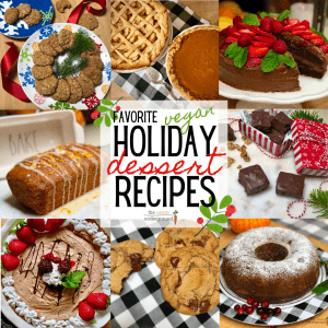 favorite vegan holiday dessert recipes