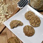 Easy Homemade Vegan Oatmeal Cookies