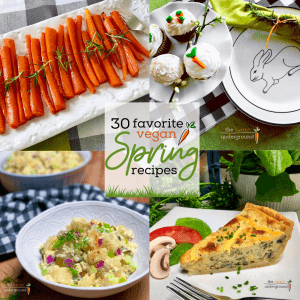 30 favorite vegan spring recipes