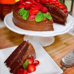Velma's Vegan Devil's Food Cake